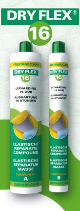 Dry flex plamuur
