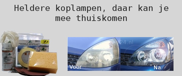 koplamp renovatie