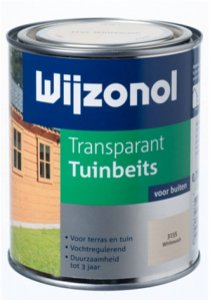 Wijzonol Transparant Tuinbeits 750 ml.