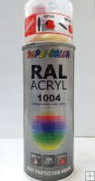 duplicolor acryl hg ral 1004 400 ml
