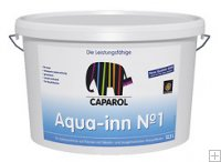 Caparol Aqua-Inn No. 1 12,5 ltr. wit