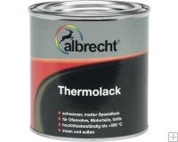 Albrecht Thermolack zwart 125ml.