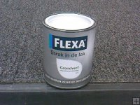 Flexa Strak in de Lak grondverf 750 ml. wit