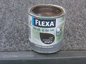 Flexa strak in de lak hooggl. 250 ml. 1026 antraciet