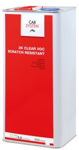 Car System 2K Clear VOC Scratch Resistant 7,5 ltr. set