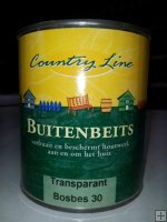 Country Line - buitenbeits transparant - Bosbes 30 750ml.