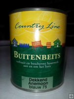 Country Line - buitenbeits dekkend - Anemoon blauw 75 750ml.