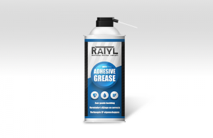 Ratyl Adhesive Grease transparant 400ml. spuitbus
