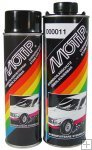 Motip anti steenslag medium solid wit spuitbus 500 ml. 000005
