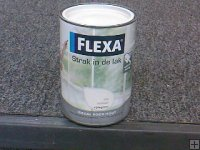 Flexa strak in de lak hooggl. 1.25 l 1525 roomwit