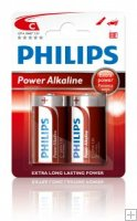 Philips Power Alkaline LR14/C