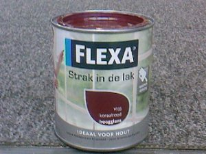 Flexa strak in de lak zijdegl. 750 ml. 1050 wolkenwit