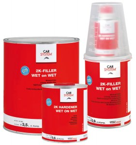Car System 2K Filler wet on wet 4,1 l. set