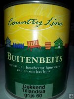 Country Line - buitenbeits dekkend - Tillandsia grijs 60 750ml.