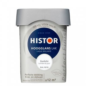 Histor Perfect Finish Zonlicht RAL9010 750ml.