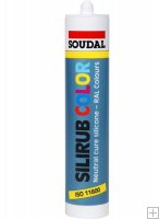 Soudal Silirub Color RAL 1015