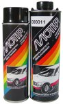 Motip anti steenslag medium solid grijs spuitbus 500 ml. 000006
