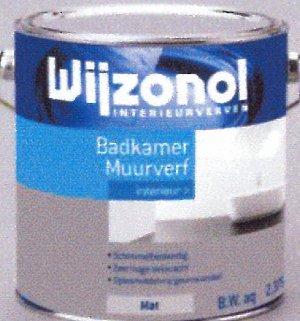 Wijzonol Interieurverven Badkamerverf 1ltr. - €16,68 : Verf24.nl, Uw ...